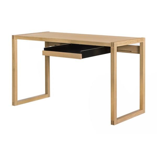Masă din lemn de stejar WE47 Renfrew, 126 x 55 cm