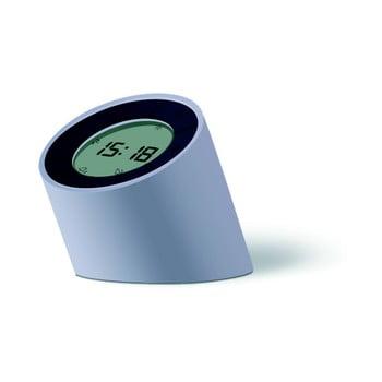 Ceas deșteptător cu LED Gingko Edge, gri