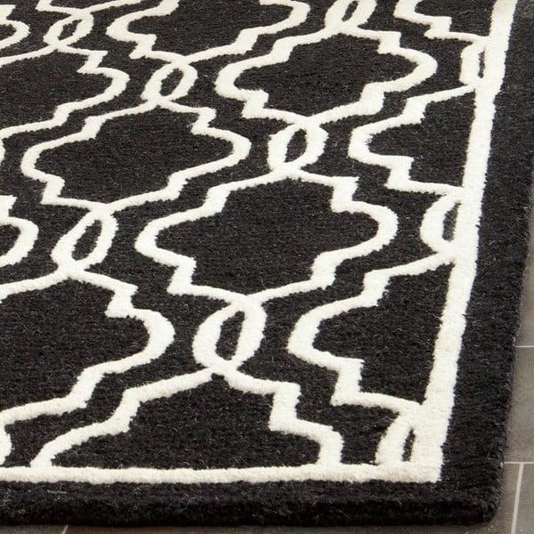 Vlněný koberec Safavieh Elle Night, 152x243 cm