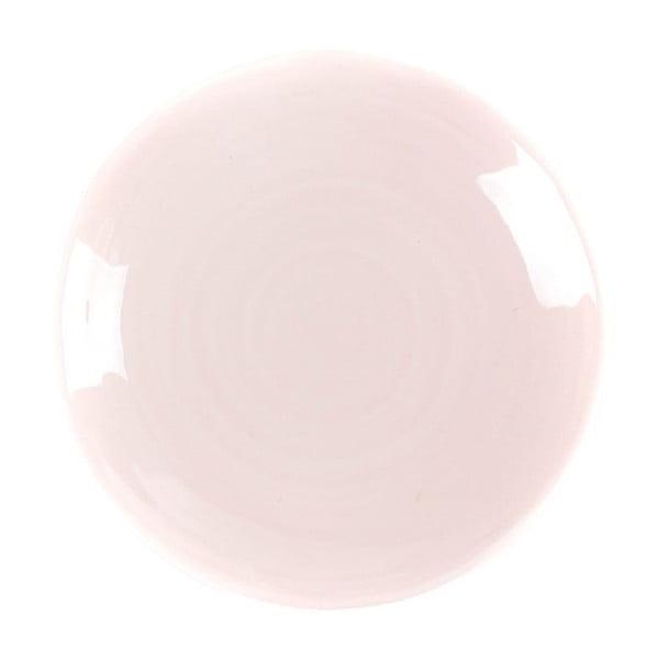 Dezertní talíř Earth 21 cm, růžový