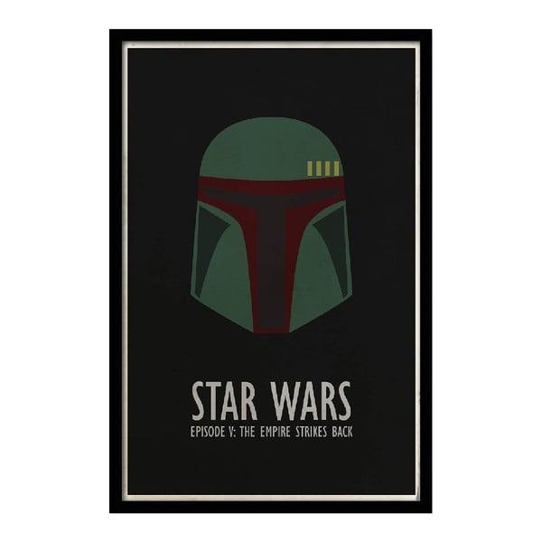 Plakát Star Wars V, 35x30 cm