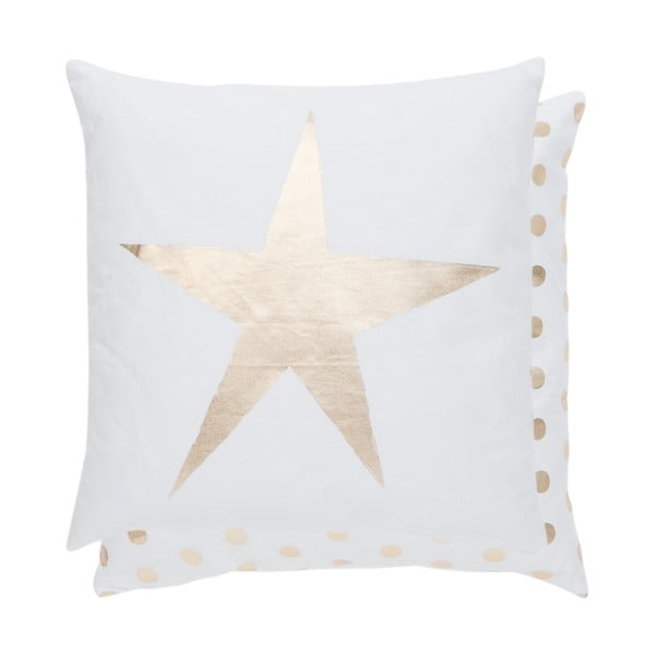 Povlak na polštář Gold Star, 40x40 cm