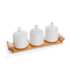 Set recipiente cu tavă Bambum Heita