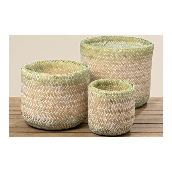 Sada 3 bambusových košíků Boltze Josy