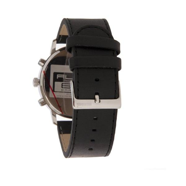 Pánské hodinky Alphabeth Chrono Leather Black