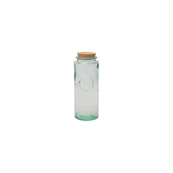 Skleněná dóza z recyklovaného skla Authentic, 1450 ml