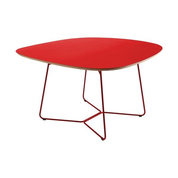 Stůl Maple, velký, červený