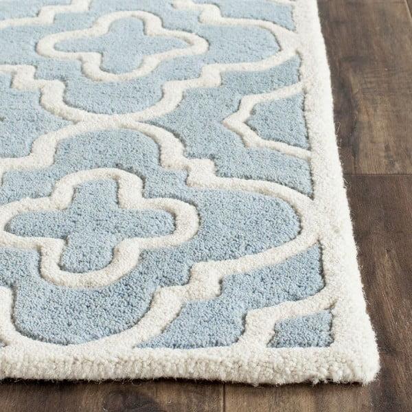 Vlněný koberec Alexa Blue, 152x243 cm