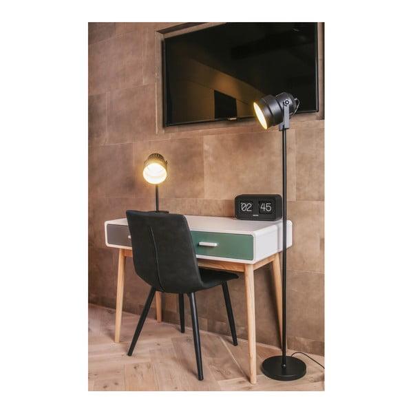 Zeleno-šedý konzolový stolek se 2 zásuvkami Karlsson Neat