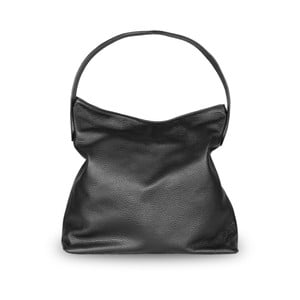 Černá kabelka z pravé kůže JOHN FISH Verse