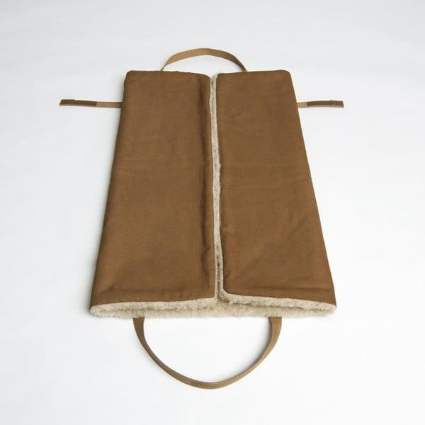 Rozkládací taška/deka pro psa Cloud7 L Hazelnut