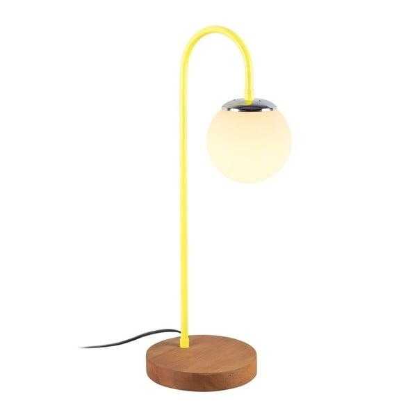 Veioză Lanty Table Lamp, înălțime 57 cm. detalii galbene