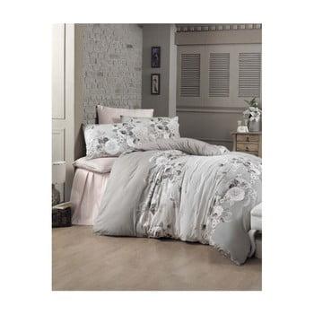 Lenjerie de pat cu cearșaf Hervin, 200 x 220 cm de la Victoria