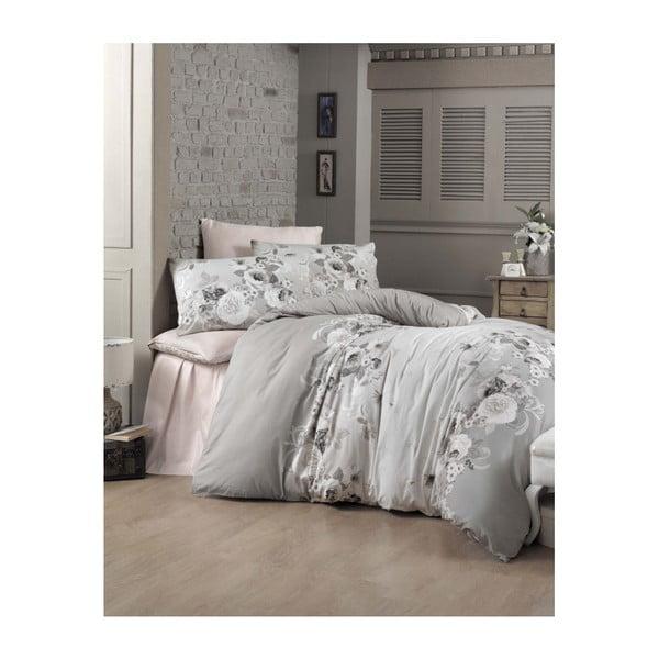 Lenjerie de pat cu cearșaf Hervin, 200 x 220 cm