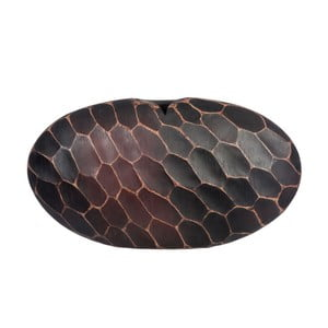 Váza Egg Maya Brown, 50x11x28 cm