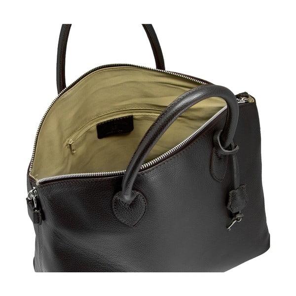 Kožená kabelka Giorgio Costa 5911 Black