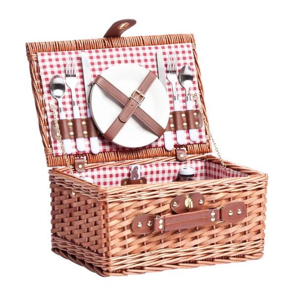 Piknikový koš s nádobím pro 2 osoby Basketis