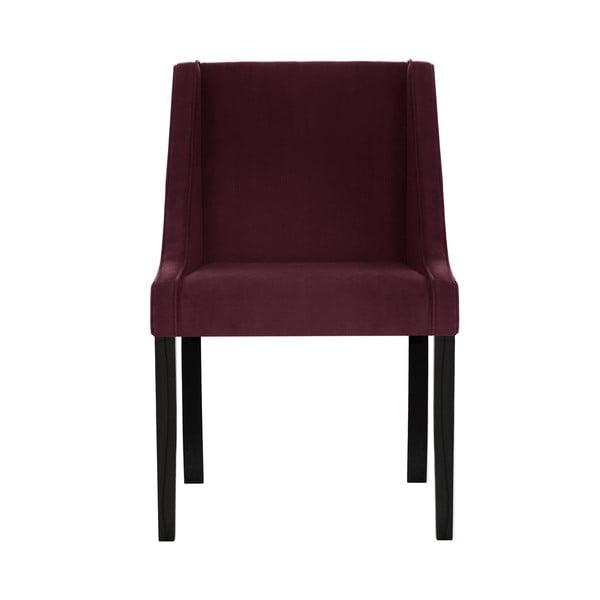 Tmavě červená jídelní židle Guy Laroche Home Creativity