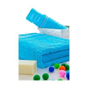 Set ručníků 50x100 a 150x80 cm, tyrkys