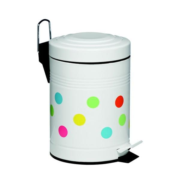Pedálový koš Dot, 3 litry