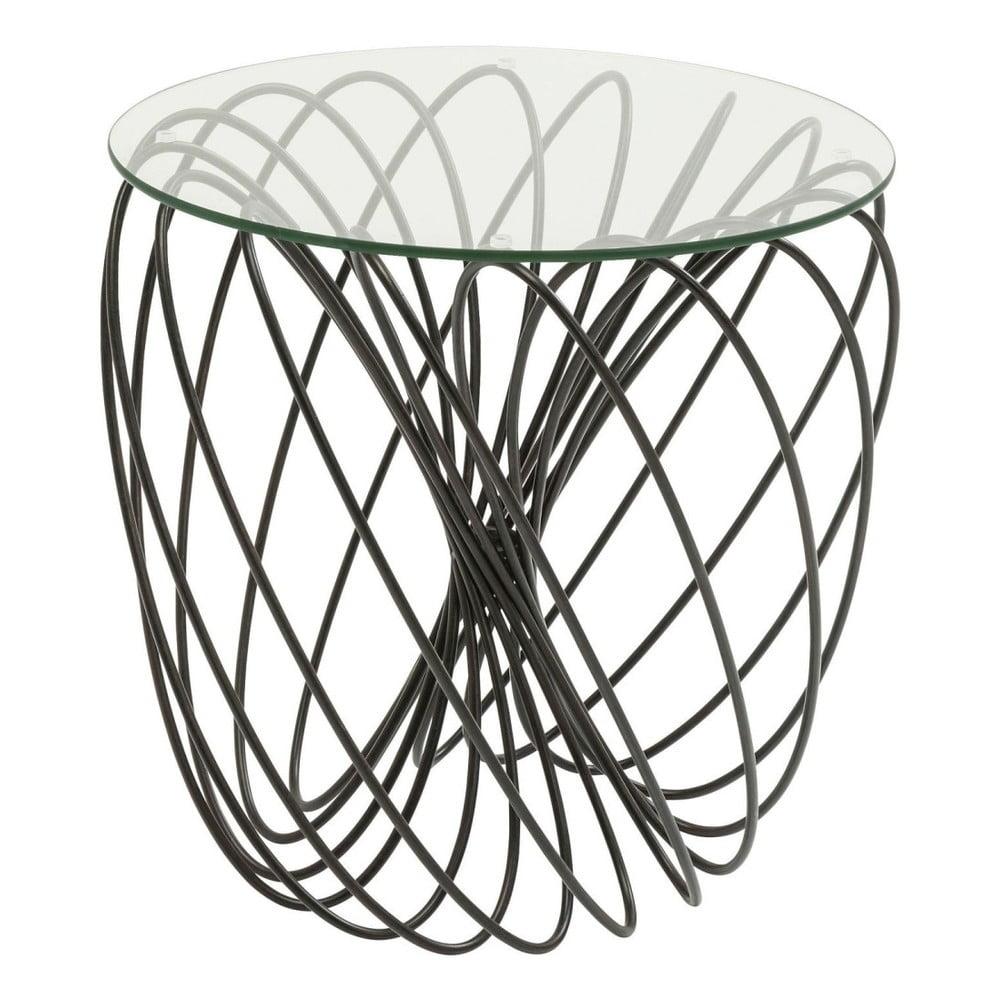 Odkládací stolek Kare Design Wire Ball, ⌀ 45 cm