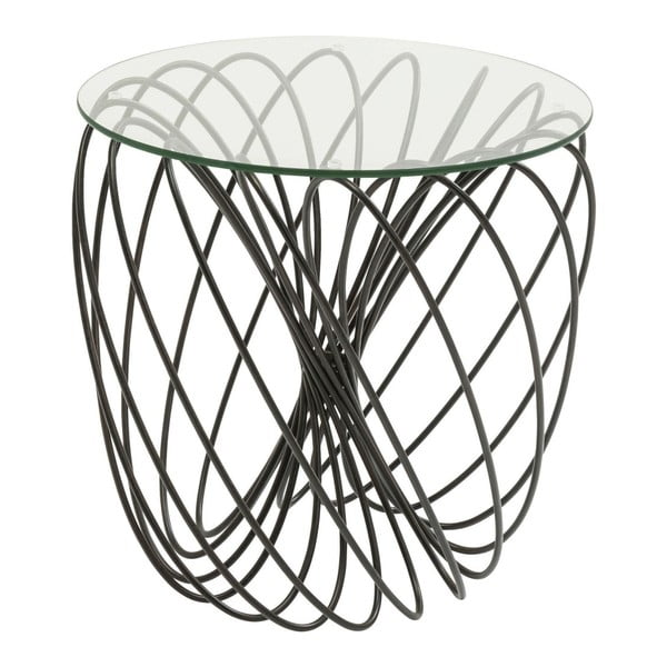 Wire Ball tárolóasztal, ⌀ 45 cm - Kare Design