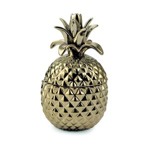 Dekorativní dóza ve tvaru ananasu, 18 cm