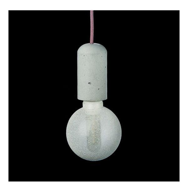 Červeno-bílé svítidlo od Jakuba Velínského, 3 m