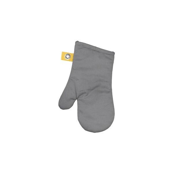 Kuchyňská rukavice Mono Grey/Yellow