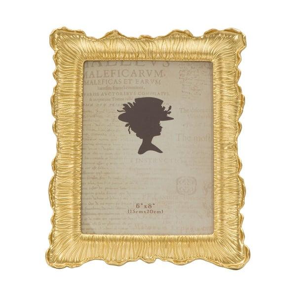 Fotorámeček ve zlaté barvě Mauro Ferretti Linear, 15x20cm