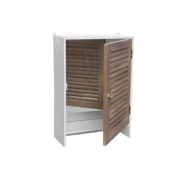 Dřevěná skříňka Wooden, 35x15x50 cm
