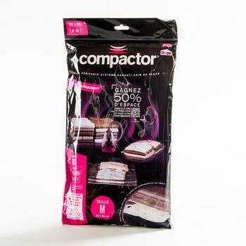 Saci pentru depozitare haine cu vacuum Compactor Clear M, 2 buc. imagine