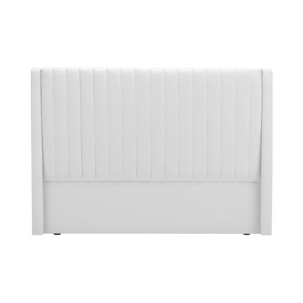 Biały zagłówek łóżka Cosmopolitan design Dallas, 160x120 cm