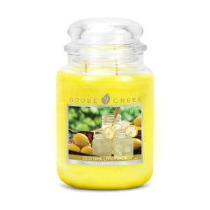 Vonná svíčka ve skleněné dóze Goose Creek Starodávná limonáda, 0,68 kg