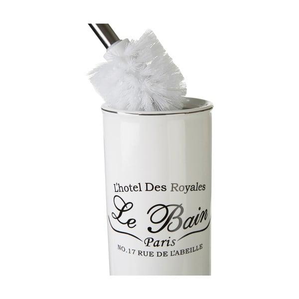 Toaletní kartáč Le Bain White