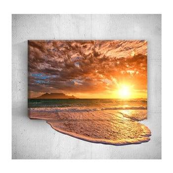 Tablou de perete 3D Mosticx Sea Sunset, 40 x 60 cm de la Mosticx