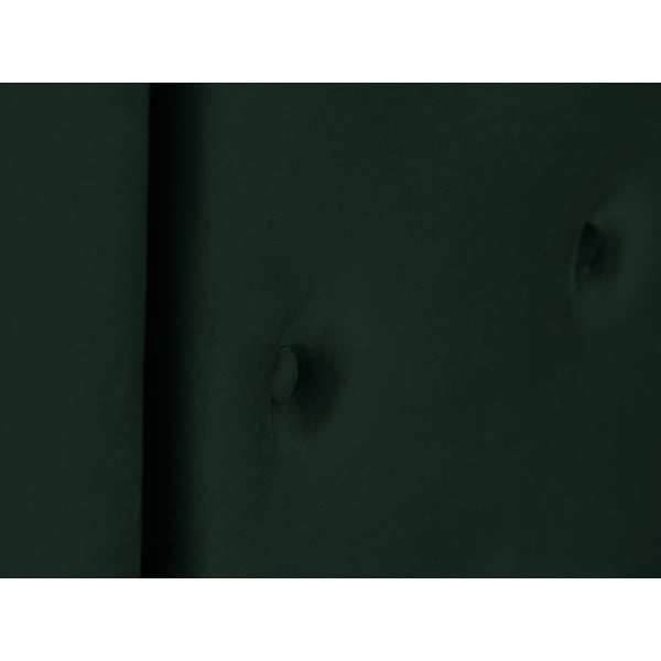 Tmavě zelené čelo postele Cosmopolitan Design Cloud, šířka 180cm