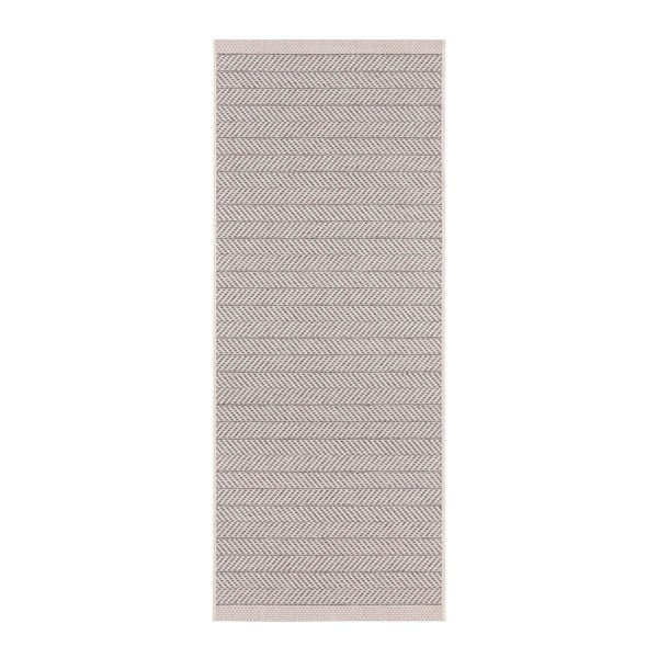 Šedobéžový venkovní koberec Bougari Caribbean, 70x200cm