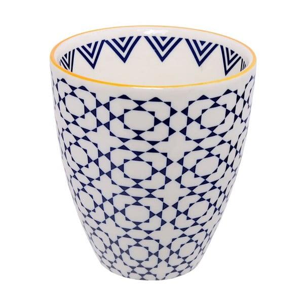 Porcelánová šálek Geometric No3, 8,7x9,8 cm