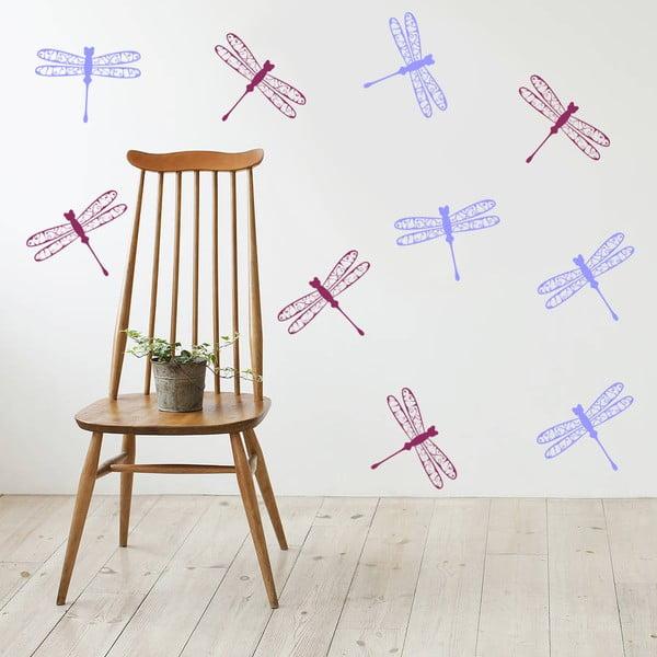 Samolepka na stěnu Vážky, 50x70 cm