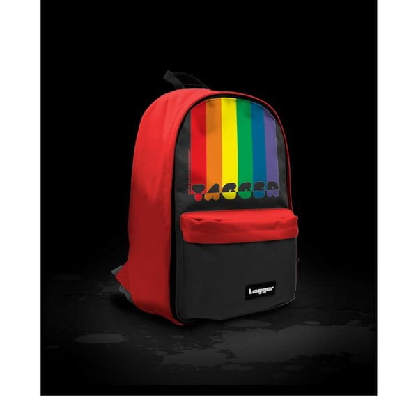 Batoh Bratpack Rainbow Black