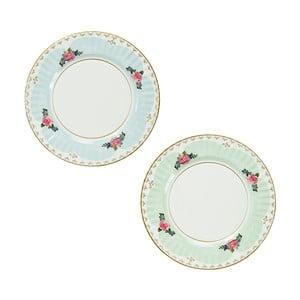 Sada 8 papírových talířů se 2 různými vzory Talking Tables Truly Scrumptious