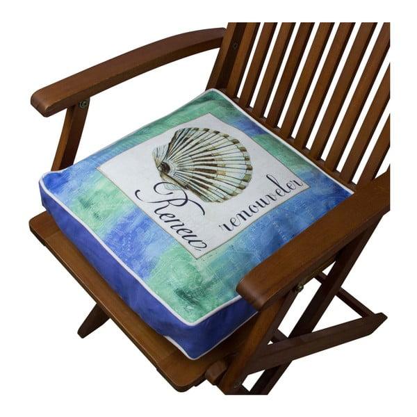 Pernă pentru scaun Gravel Sea Shell II, 42x42cm,cuumplutură