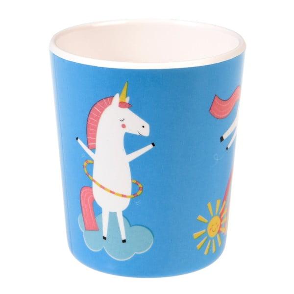 Modrý kelímek s jednorožcem Rex London Magical Unicorn,150ml