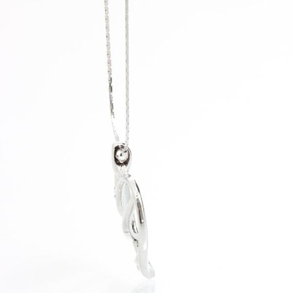 Náhrdelník Laura Bruni se Swarovski Elements Crystal Heart
