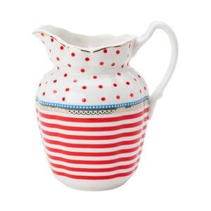 Porcelánový džbánek Happy od Lisbeth Dahl
