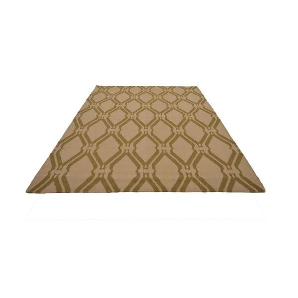 Ručně tkaný koberec Mustard Ethno, 160x230 cm