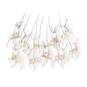 Ghirlanda luminoasă cu LED în formă de reni DecoKing Deer, lungime 1,65 m, 10 beculețe imagine
