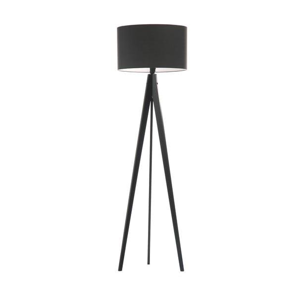 Stojací lampa Artist Grey/Black, 150x42 cm