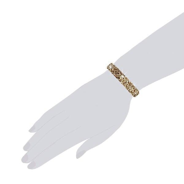 Náramek Golden, 19 cm